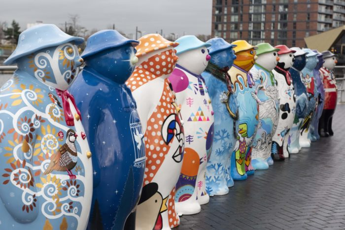 Walking with The Snowman, MediaCity Manchester